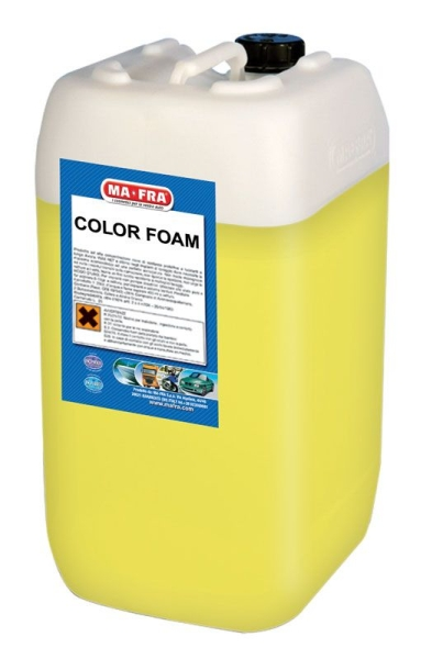 P0463G - COLOR FOAM GIALLO T/25